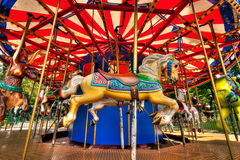 Merry-Go-Round Stock Photo