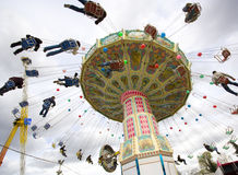 Merry-go-round Stock Image