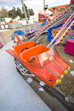 Merry-go-round. For children in a funfair at paris, with nobody Royalty Free Stock Images
