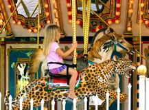 Merry Go Round 2 stock images