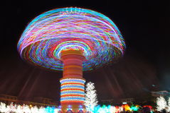Merry-go-round. In icity, shah alam, selangor, malaysia Stock Photo