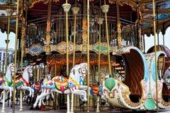 Merry-go-round Immagini Stock Libere da Diritti
