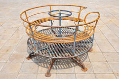 Merry Go Round. Old and rusty Merry Go Round Stock Photography