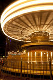 Merry go round. A long exposure shot of a merry go round in motion Royalty Free Stock Images