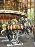 Merry-go-round stockfotos