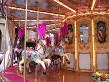 Merry-go-round fotografia de stock royalty free