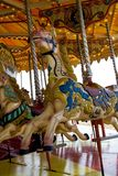 Merry-go-round. At Brighton beach Royalty Free Stock Photo