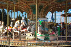 Merry-go-round Stock Photography