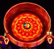 Merry-go-round carousel Stock Image