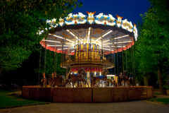 Merry-go-round carousel Stock Photography