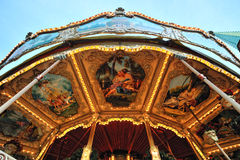 Merry-go-Round Carousel details Royalty Free Stock Images