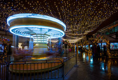 Merry-go-round carousel Royalty Free Stock Photography