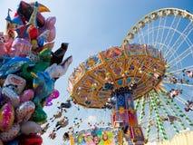 Merry-go-round do vintage Imagem de Stock Royalty Free