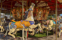 Merry-Go-Round. At the Fair Stock Photos