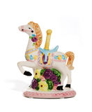 Merry-go-round figurine Royalty Free Stock Photo