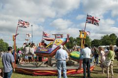 Funfair, Lambeth Country Show 2013, Brockwell Park, London, UK stock images