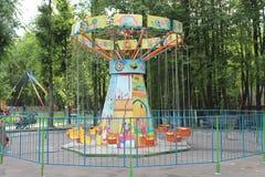 Merry-go-round Stock Photo