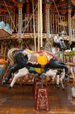 Merry go round horse Stock Images
