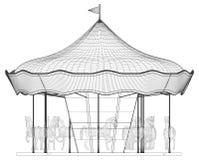 Merry-Go-Round Horse Carousel Vector Stock Photos