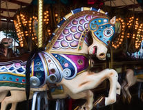 Merry go Round Horse Stock Photography