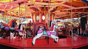 Merry Go Round Horses Stock Images