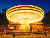 Merry-go-round light Stock Photography