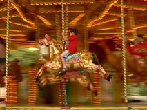 Merry-go-round a Londra Fotografia Stock