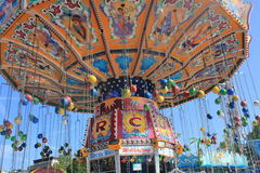 Merry-go-round in Luxembourg Stock Image