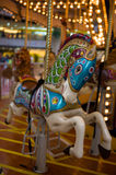 Merry Go Round in mall. Carousel Merry Go Round in a Shopping Mall, Hong Kong Stock Photos