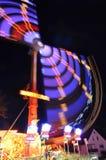 Merry-go-Round nachts Lizenzfreie Stockfotos