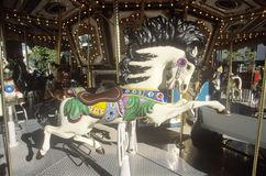 Merry-Go-Round, Navy Pier, Chicago, Illinois Royalty Free Stock Photography