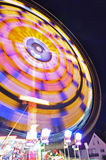 Merry-go-round at night Stock Images