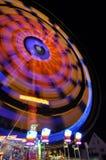 Merry-go-round at night Stock Photos
