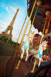 Merry-go-round in Paris Royalty Free Stock Photo