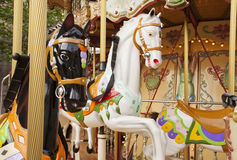 Merry-go-round. Traditional Merry-go-round in Paris Stock Image