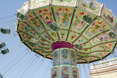 Merry-go-round Vienna Prater Stock Photo