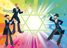 A merry holiday Purim. Purim - it is the Jewish holiday Stock Images