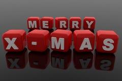 Merry X-Mas Stock Image