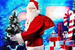 Merry santa Royalty Free Stock Photo