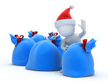 Merry Santa Claus Royalty Free Stock Image