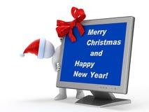 Merry Santa Claus Royalty Free Stock Photos