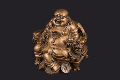 Merry statuette laughing buddha Royalty Free Stock Photo