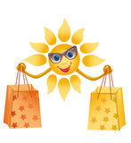 A merry sun Stock Image