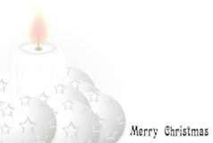Merry White Christmas Royalty Free Stock Images