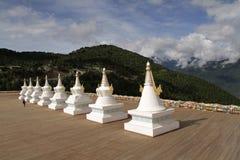 Merry white pagoda Stock Photos