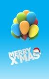 Merry X Mas font Royalty Free Stock Photography