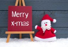 Merry X-mas still life Stock Photography