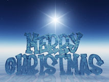 Merry Xmas!. Beautiful christmas postcard computer generated vector illustration