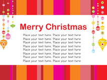 Merry xmas background with place for text Stock Photography