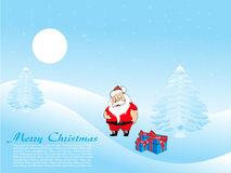 Merry xmas background with place for text Stock Photo
